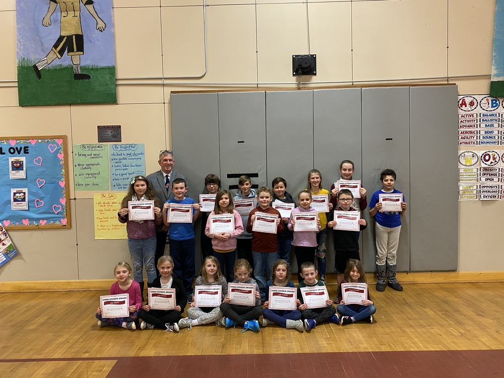 Good Citizens for the Month of January