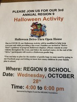 3rd Annual Region 9 Halloween Activity