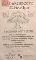 Shakespeare in the Garden - A Midsummer Night's Dream