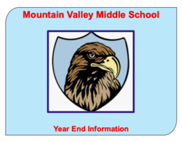 2020 MVMS Year End Information