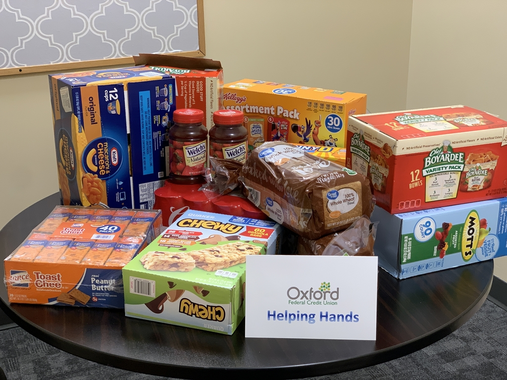 Food donated by OFCU
