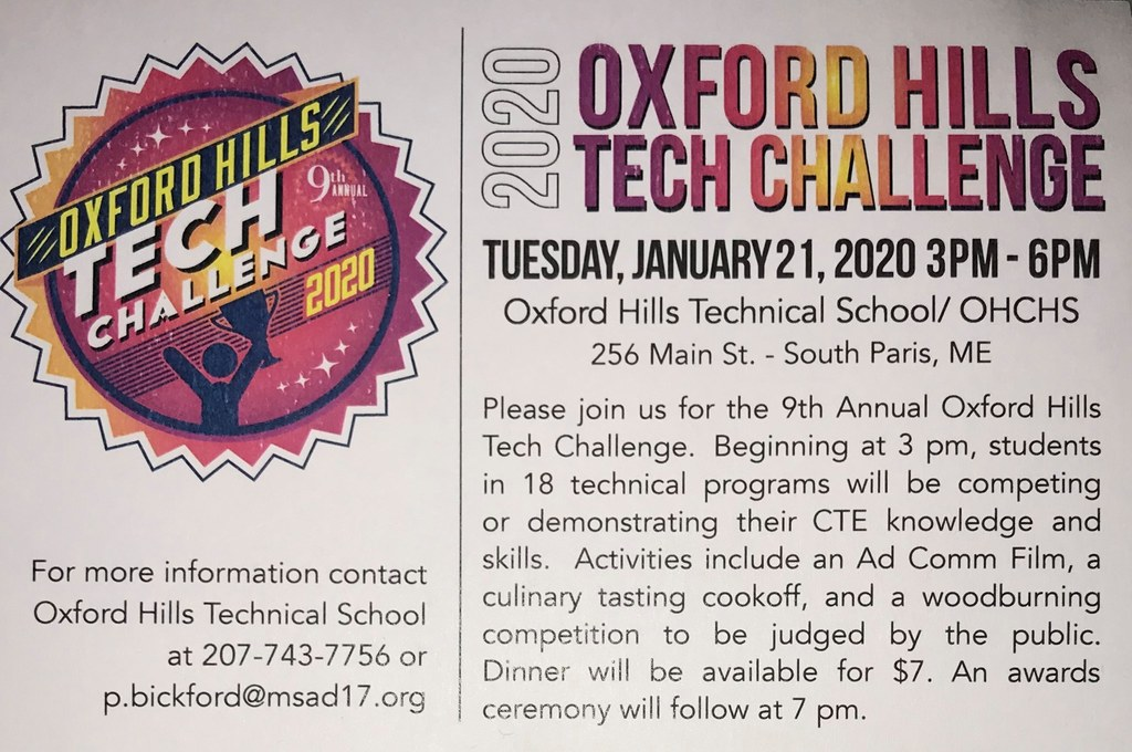 2020 Oxford Hills Tech Challenge